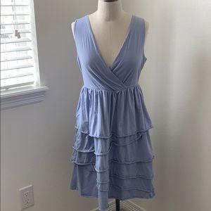 Garnet Hill tiered dress VGUC